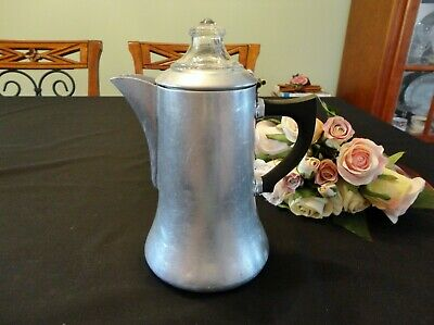 Vintage Swan Coffee Percolator Made in England 1 ½ Pints