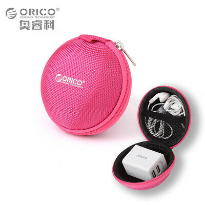 Super Mini Shockproof Protective Travel Cable Charger Carrying Bag Coin Purse