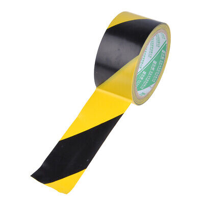 PVC Roll Self Adhesive Black Yellow Hazard Safety For Lane Marking Trendy