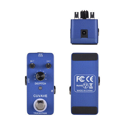 Durable Digital Pitc*h Guitar Effect Pedal True Bypass Full Metal Shell USA W1Y0