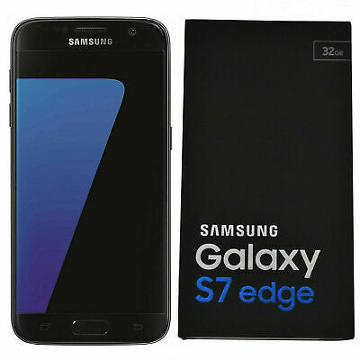 Unlocked Samsung Galaxy S7 Edge G935F LTE 4G Mobile 32GB Phone In Sealed Box