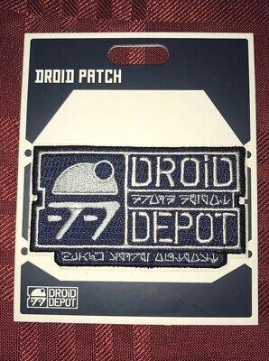 Disney Parks Star Wars Galaxy's Edge Astromech Droid Depot Patch