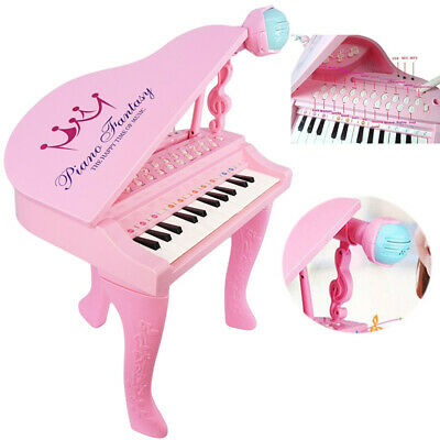 Kids Electronic Piano Musical Instrument 25 Keys Electric Keyboard Organ Toy