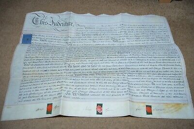 1819 indenture Hatfield Wroot nr Doncaster lease of farm at Town Carr