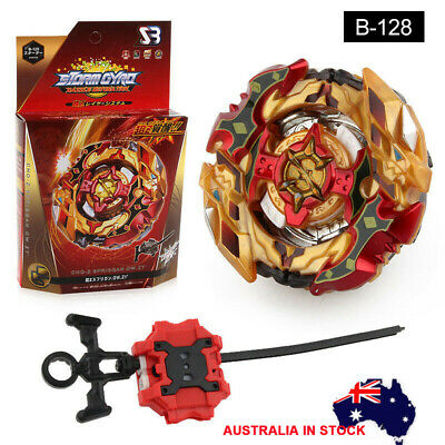 AU-Beyblade Burst Cho-Z B-128 Spriggan Spryzen Booster Set W/ Launcher and Box