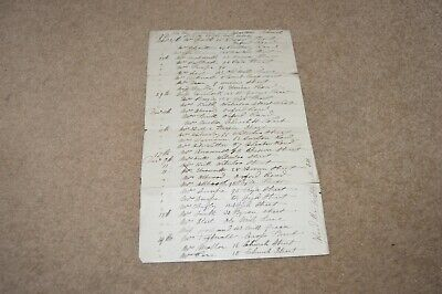 MACCLESFIELD 1891 document listing many names and addresses