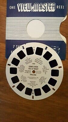 View-master rare single reel 1092: COWES WEEK, Isle of Wight.