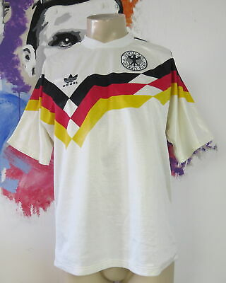 Vintage West Germany EURO 1988 World Cup 1990 home shirt adidas size L