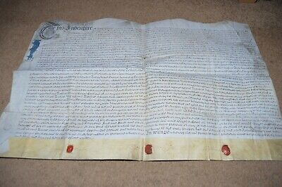1742 indenture land at Malcoff in Chapel En Le Frith
