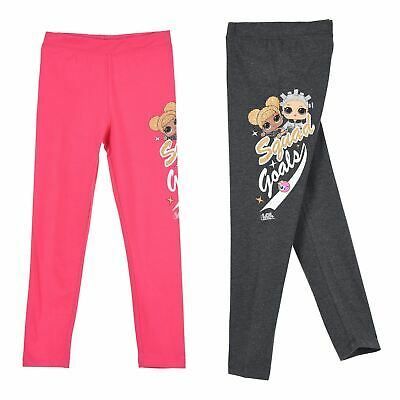 Girls Kids LOL Surprise Childrens Leggings Trousers Age 5-10 Years