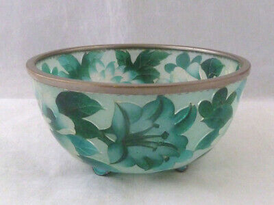 Ando Plique a Jour Cloisonne Bowl - slight A/F but Stunning..