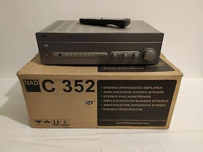 NAD C 352 Stereo Itegrated Amplifier c352 amplificatore