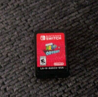Super Mario Odyssey (Nintendo Switch Game) 2017 Cart Only