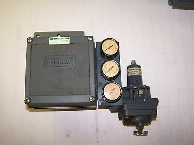 FISHER ELECTRO-PNEUMATIC VALVE POSITIONER 4 - 20 mADC 3582I