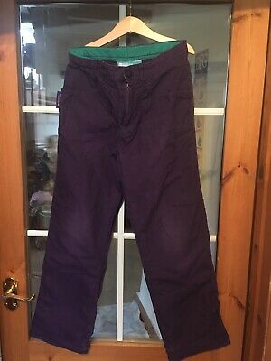 Lined Winter Trousers, Purple, Mountain Warehouse, Age 11-12y.