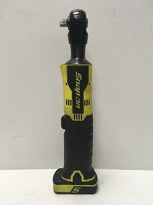 "Snap-on CTR761CHV 3/8"" Drive 14.4V Cordless Ratchet & 2.0AH Battery - Hi Viz"