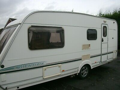 Abbey Aventura 325 - 2003 - 4 Berth Caravan - Comes With Awning And Motor Mover