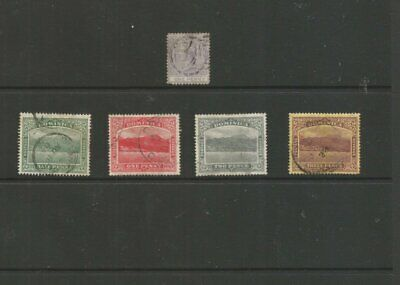 Dominica 1883-1908 Used Stamps G2