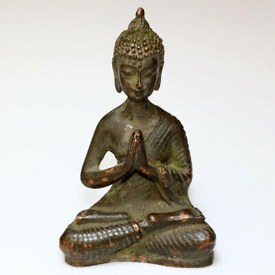 Museum Quality Circa 1000-1300 Ad India Bronze Buddha God Statue