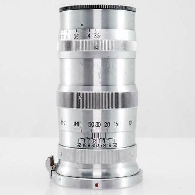 Nikon Nippon Kogaku Japan Nikkor-Q.C 135mm f/3.5 Lens for Nikon S Mount (EX-)