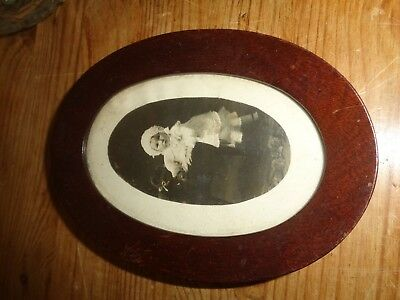 Wooden Frame with Child Photo