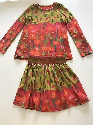 Girls Olily Set Matching Top And Skirt Age 6