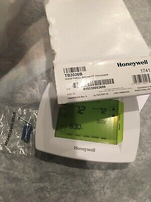 Honeywell TB3026B BACnet Fixed Function Thermostat-For FanCoil/HeatPump/Conventi