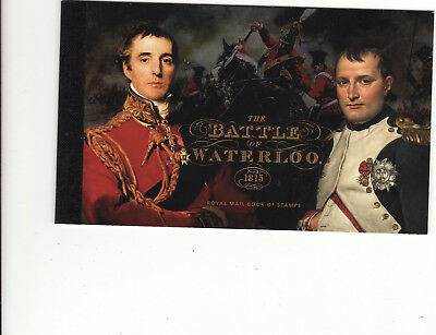 Gb Prestige Stamp Booklet - 2015 Bicentenary Of Battle Of Waterloo Unused