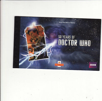 Gb Prestige Stamp Booklet - 2013 50Th Anniv Of Doctor Who Unused