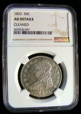 1832 Capped Bust Half Dollar Graded By NGC UA Details