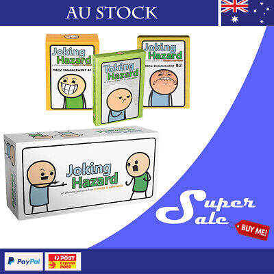 Joking Hazard Core Game and Expansions New Party Game Card Game