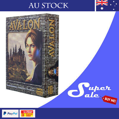 The Resistance: AVALON Secret Identities Board Game Au Stock