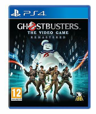 Ghostbusters The Video Game Remastered (Playstation 4, 2019) new