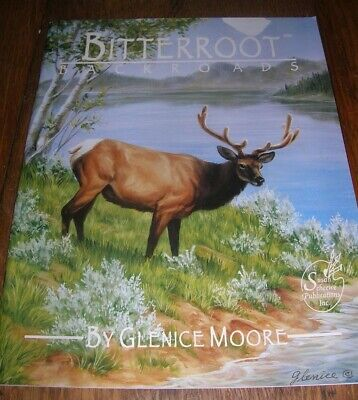 Bitterroot Backroads ~ Glenice Moore ~ Painting Instruction Softcover Book ~ New