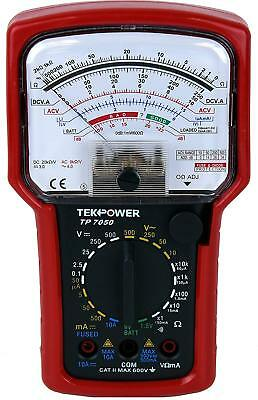 Tekpower TP7050 7-Function High Accuracy Analog Multimeter with Battery Tester