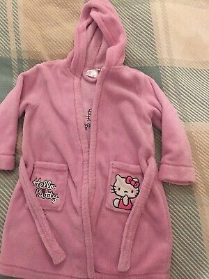 Hello Kitty girls dressing gown