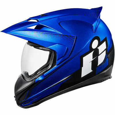 New Blue Icon Variant Double Stack Helmet All Sizes