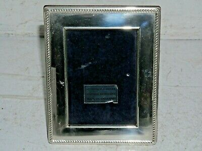 Hallmarked Silver Photo Frame - Ideal Christmas Gift - L@@K
