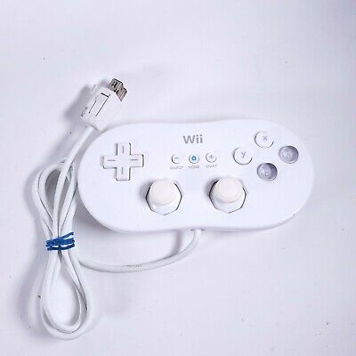 Official OEM Nintendo Wii Classic Controller RVL-005 - Fast Free Shipping