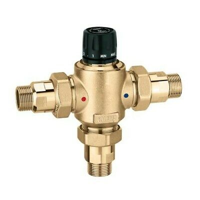 Mixeur Thermostatique avec de Retenue 1 1/4 Caleffi 523073 523073