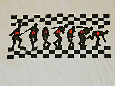 New Men's Madness Band T-Shirt XL English Ska Band Two-Tone One Step Beyond