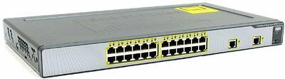 USED Cisco WS-CE500-24TT Catalyst Express 500 Series Switch