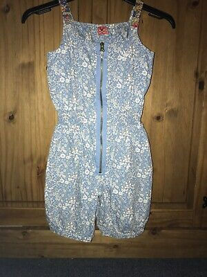 NAS Liberty Floral Playsuit Age 9-10 Suit 7-8 Worn Once LOOK