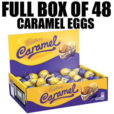 Full Box of 48 Cadbury Caramel Eggs  In Stock Today  FREE 48hr Tracked Delivery