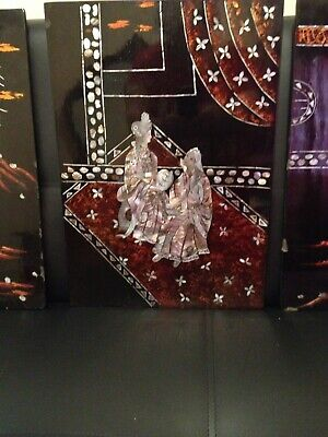 Mother      Pearl      Inlay          Lacquered         Wall        Pictures