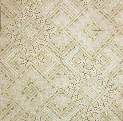 Quilt Top (Pieces) Ornate Baroque Architectural Ceiling Lace Canopy
