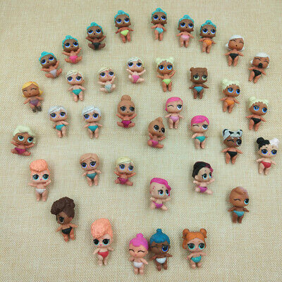 LOL Surprise 8PCS Dolls Baby Sister Birthday Color Xmas Gift Lil Toy Collection