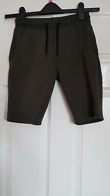 Girls Primark Green 3/4 Joggers Age 10/11 Years