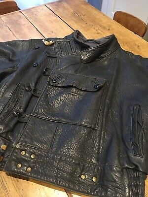 Original Vintage Motorcycle Despatch Riders Leather Jacket