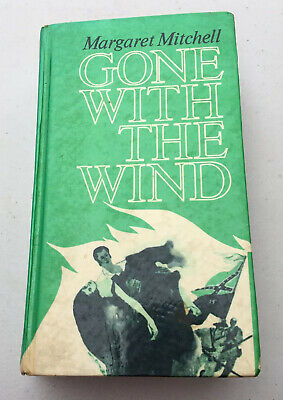Gone with the Wind By Margaret Mitchell, Permabook Ed 1963 HC Ex Library Book